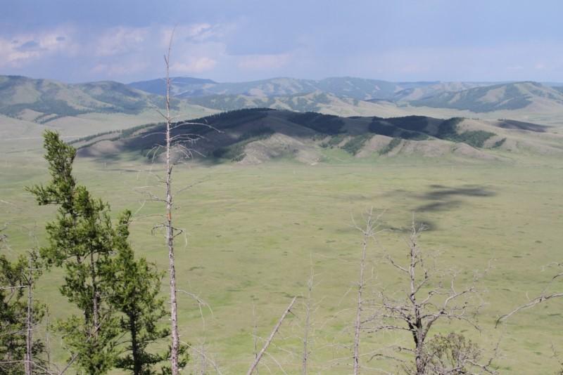 View from Uran-Togoo-Tulga-Uul volcano