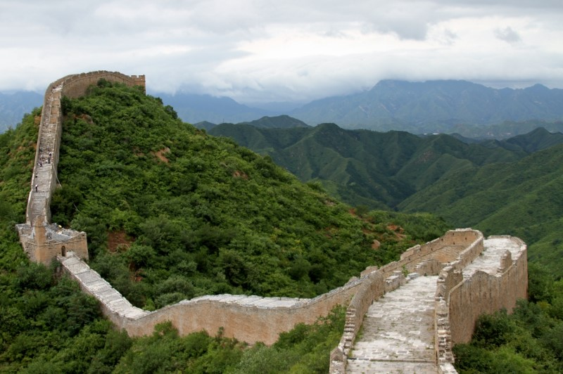 Great Wall of China - what a view!