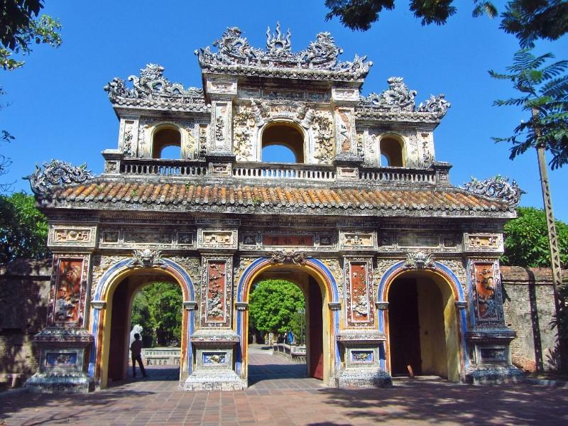 Citadel gate in Hue