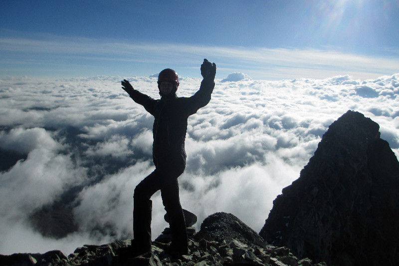Venez 2014 / Trek Andes / J3 / Pico Humbolt / 4940m