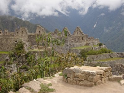 Living Quarters at Machu Picchu