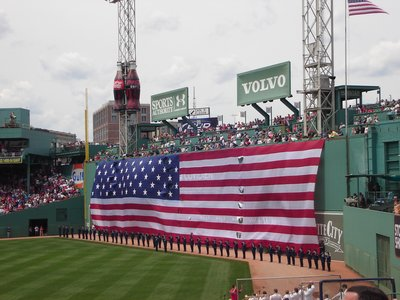 Independence Day at Fenway Park