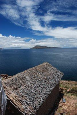 View of Lake Titikaka