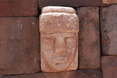Heads at Tiwanaku