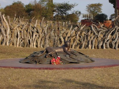 Rorkes Drift Zulu Monument
