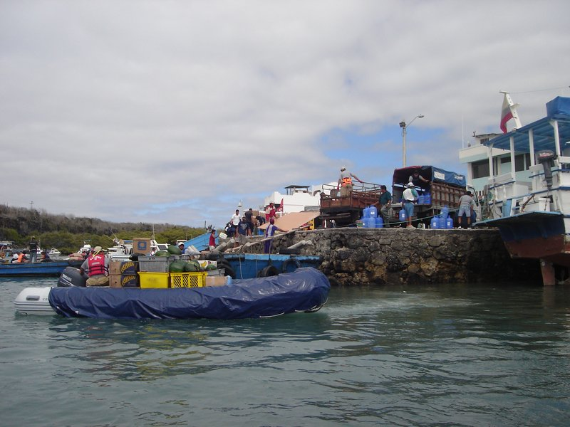 Puerto Ayora Harbour - Galapagos Islands