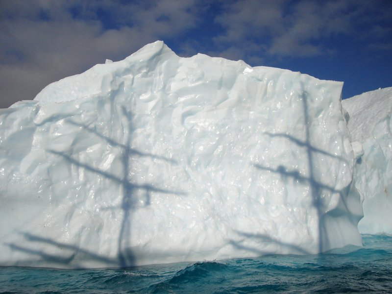 Passing an Ice Berg
