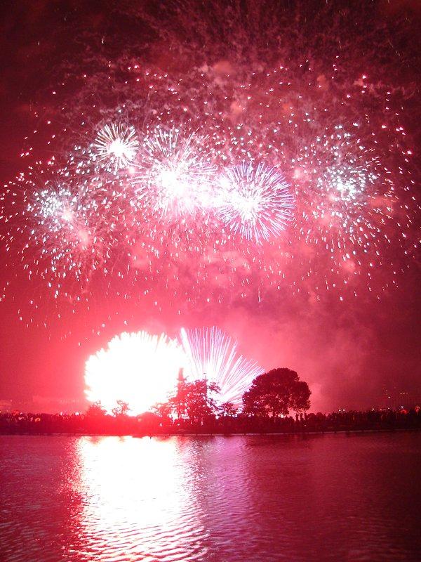 Boston Bay July 4th Fireworks