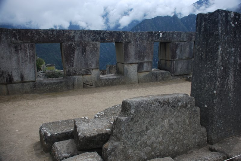 The Inca Rock and the Three Windows