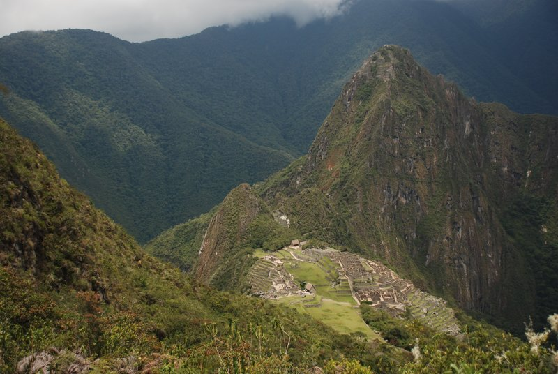 Alternate view of Machu Picchu
