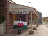 Gaiman Station & Flag