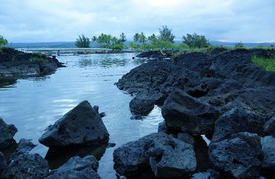 Hilo Bay on the Big Island, James Brennan Molokai Hawaii