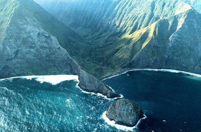 Cliffs of Molokai, James Brennan Molokai Hawaii