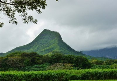 Mount Olomana on Oahu, James Brennan Molokai Hawaii