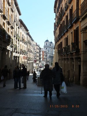 Calle de Atocha, walking toward Plaza Mayor