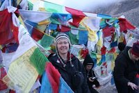 Chris at Everest Base Camp
