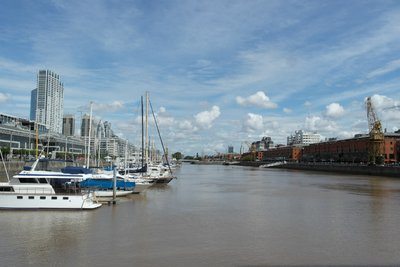 The Buenos Aires harbour
