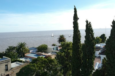 View of Colonia from the lighthouse