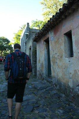Wandering the streets of the historic neighborhood