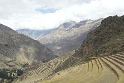 Known for their agricultural terraces