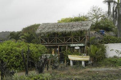 Our wonderful hostel