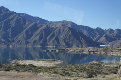 Beautiful lakes we passed