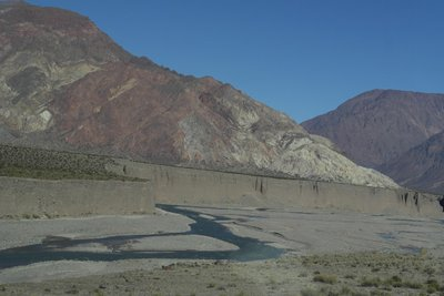 The 'wall' and braided river