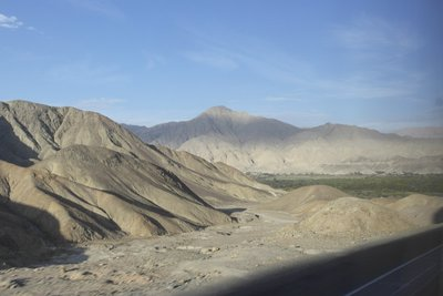 The ride to Nazca