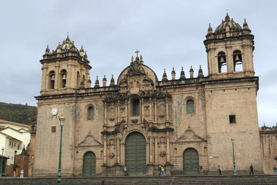 Cathedral in the main square of Cusco