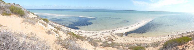 Shark Bay coastline