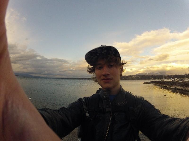 me by lake Geneva