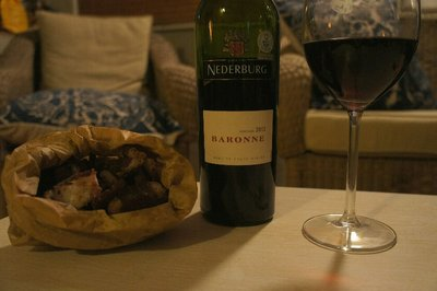 Biltong and Red Wine = Heaven