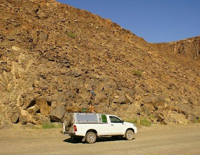 On our way to Fish River Canyon