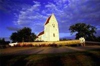 Church on Møn Island