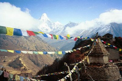 Ama Dablam from don la