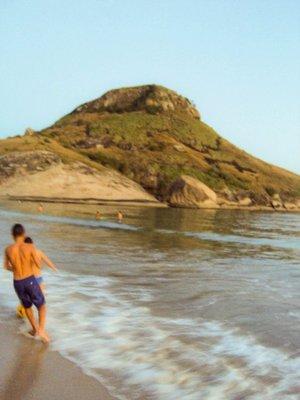 Pedra do Pontal, Praia da Macumba - Rio de Janeiro, RJ - BRAZIL