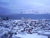Snowed Reykjavik