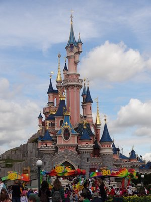 Euro Disney Castle