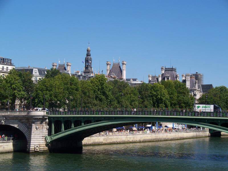 Paris Summer Beach on the Seine