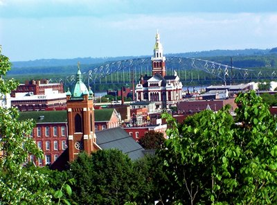 Downtown Dubuque, Iowa