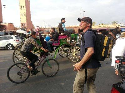 À la recherche d'un tiramisu à Marrakhech