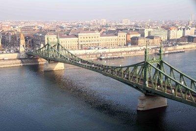 pont sur le Danube à Budapest
