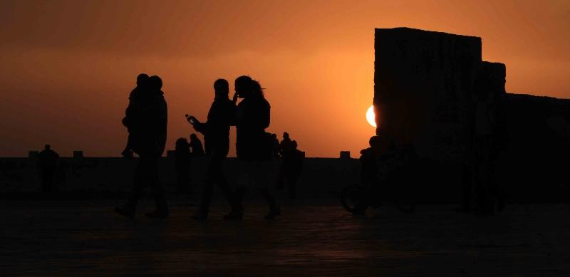 à demi couché Essaouira