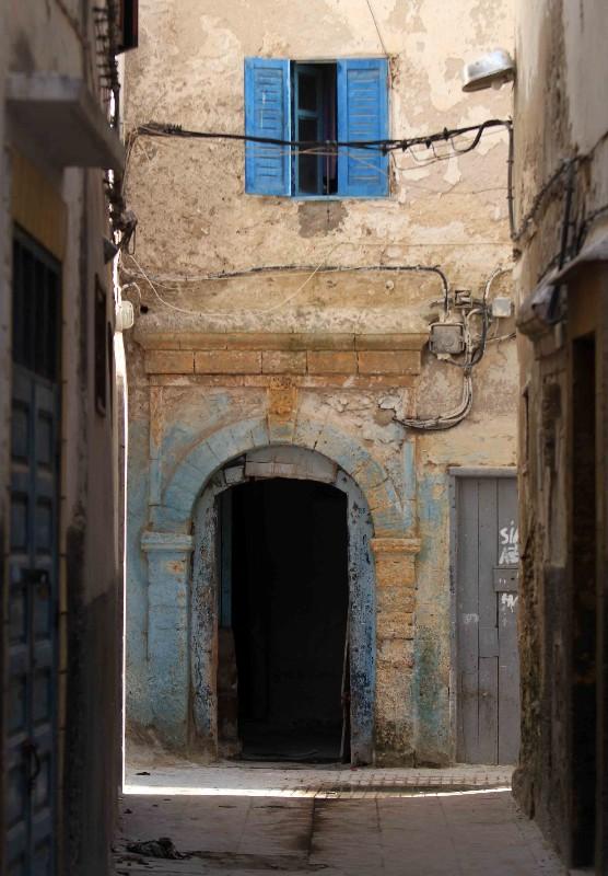 volets bleus médina Essaouira
