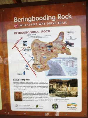 Beringbooding Rock map
