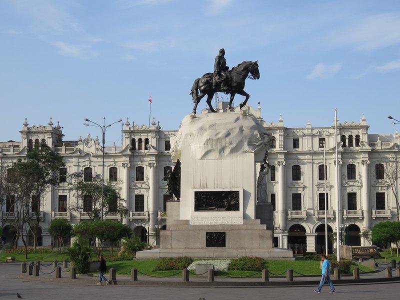 José de San Martín - Lima