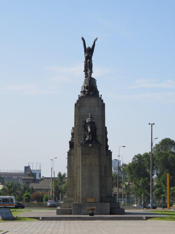 Monument of Admiral Grau