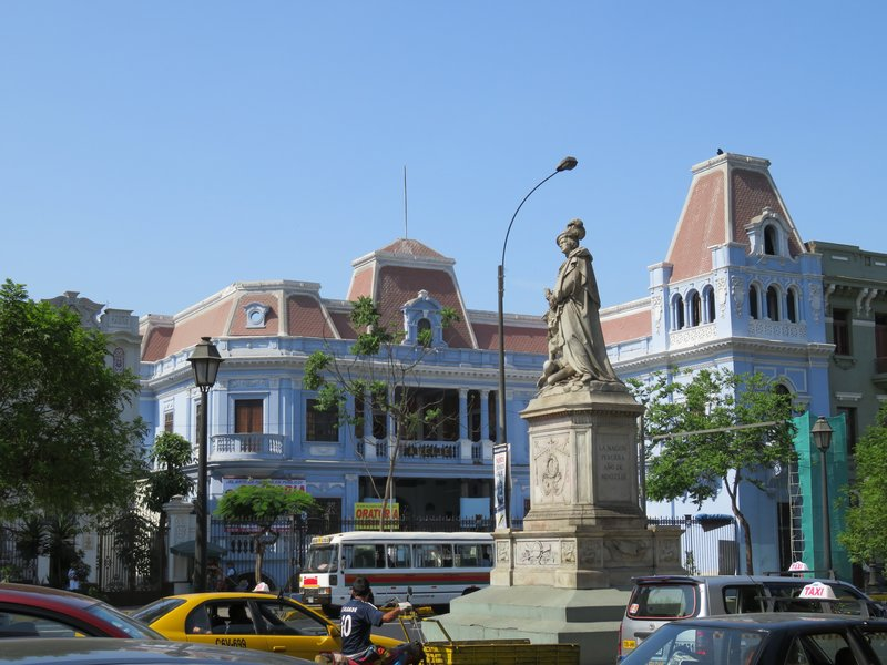 Along Paseo Colon- Lima