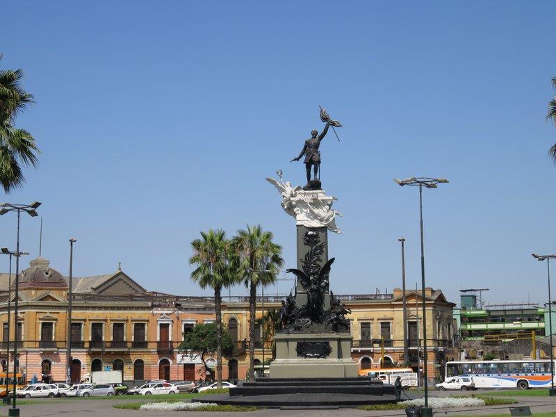 Colonel Bolognesi monument