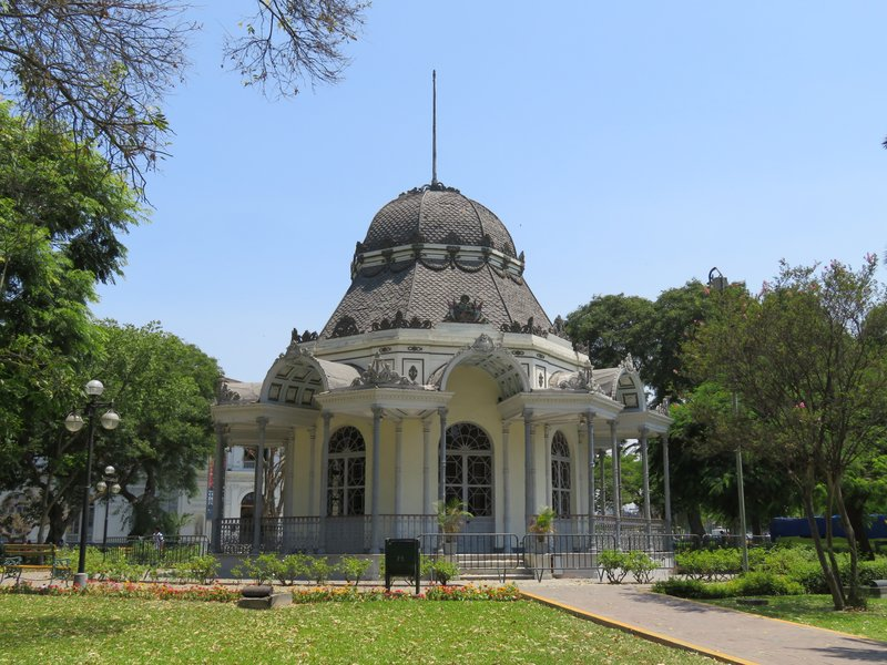 Byzantine Pavilion Exposition Park